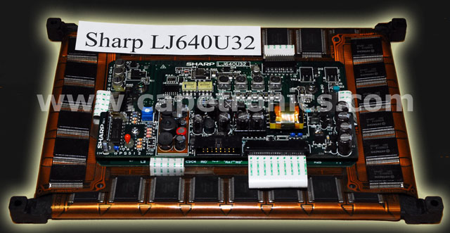 Sharp LJ640U32. EL Display 640X400 resolution. Amber EL display for industry.